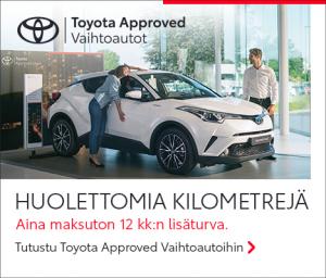 Kun hankit vaihtoauton meiltä, voit luottaa siihen, että se on moitteettomassa kunnossa ja valmiina ajoon. Myönnämme Toyota Appr...