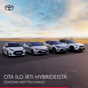 Tutustu laajaan hybridimallistoomme, ja ota selvää mistä Suomen suosituimmat hybridit on tehty.  Näyttelyetuna rajattuun erään C...