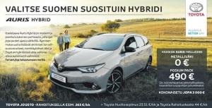 Suomen suosituin hybridi nyt huippueduilla. Tervetuloa koeajamaan!