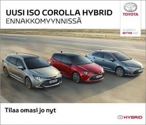 Maailman suosituin on nyt uudestisyntynyt. Uusi, iso Corolla Hybrid ylittää kevyesti kaikki odotukset. Touring Sports. Hatchback. Sedan. Kaikki kolme ennakkomyynnissä nyt meillä. Tervetuloa innostumaan. #toyota #corolla