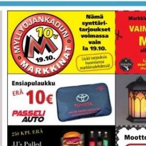 @passeliauto: Huomenna lauantaina Myllyojankadun Markkinat. Tervetuloa!