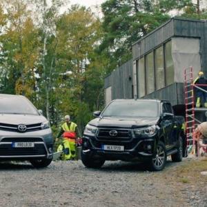 @passeliauto: Se on vahva se on varma. Se on Toyota. Toyota Proace. Nyt automaatti manuaalin hinnalla. Tervetuloa koeajolle! #toyota #tavaraautot #proace